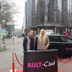 KULT Promotionaktion in Hannover