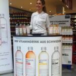 Promotionstand in Getränkemarkt