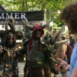 Promotionaktion zur Warhammer Store Eröffnung