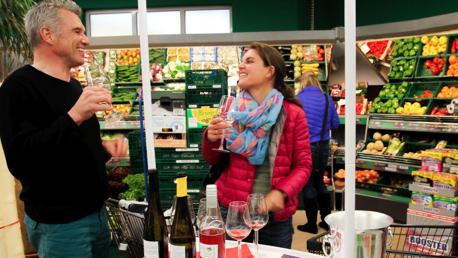Tastingkampagne im Supermarkt