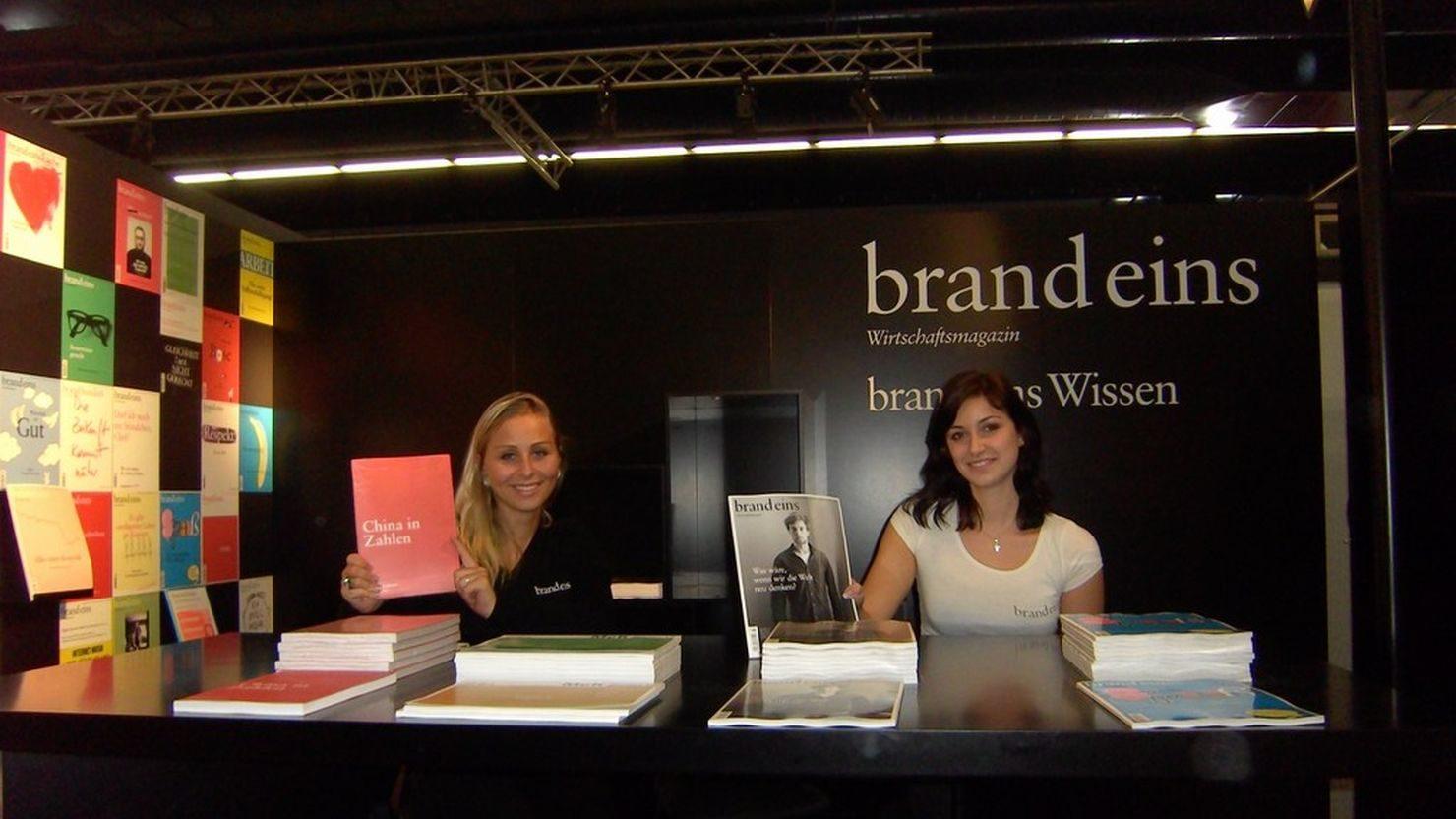 Promotion auf der Frankfurter Buchmesse