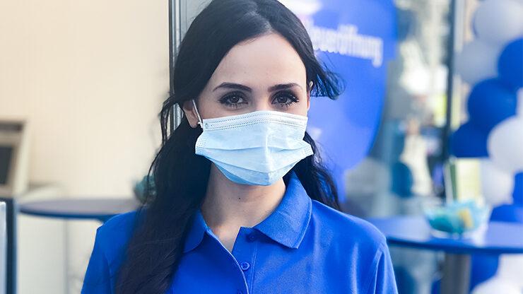 Promotion mit Hygieneregeln